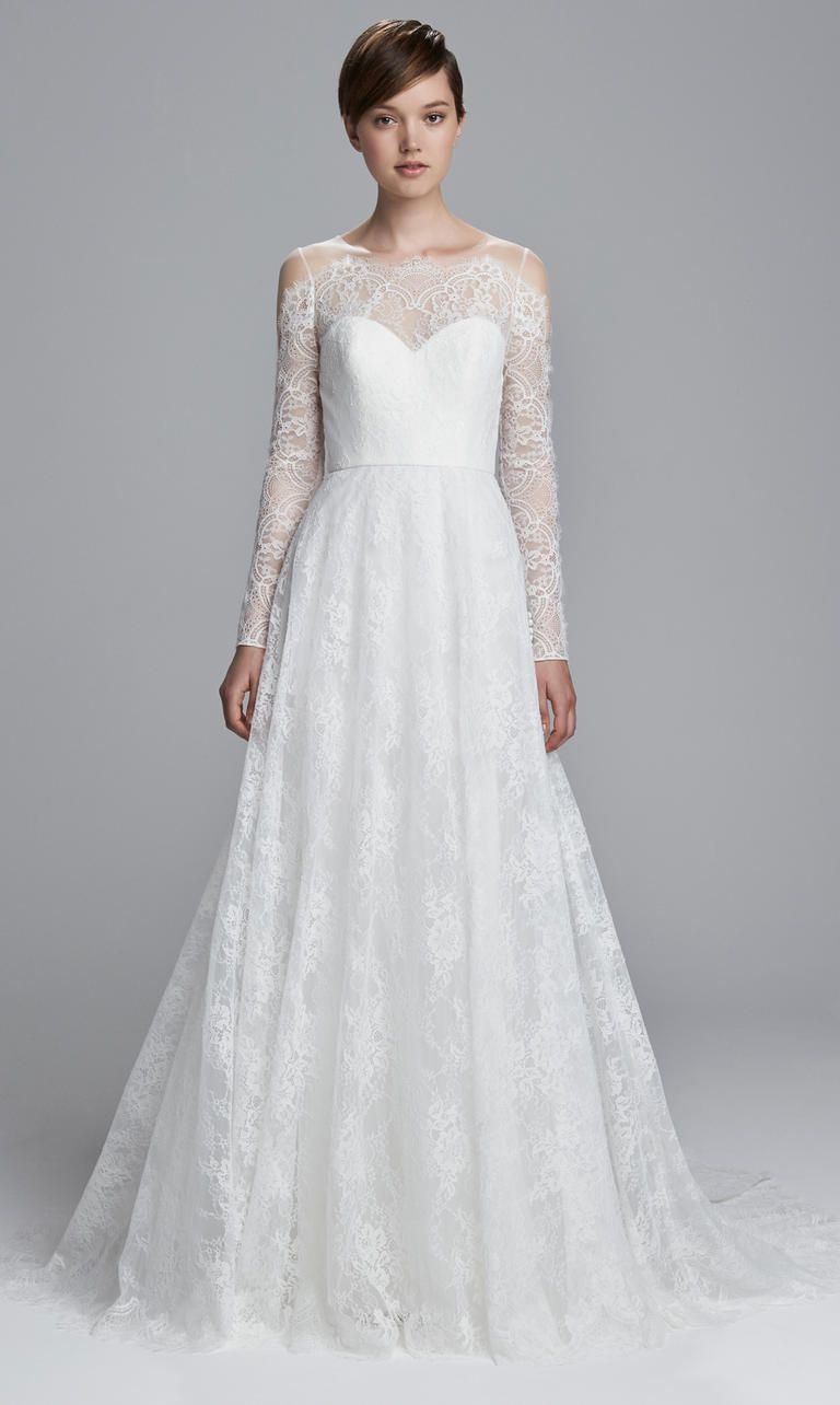 Plus size pin up style wedding dress  Classically Beautiful Wedding Dresses From the Christos Spring