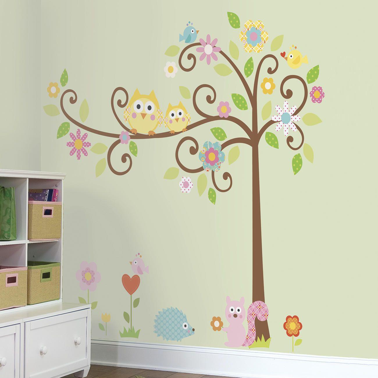 Hochwertige Wanddekore der Marke RoomMates Wandtattoo