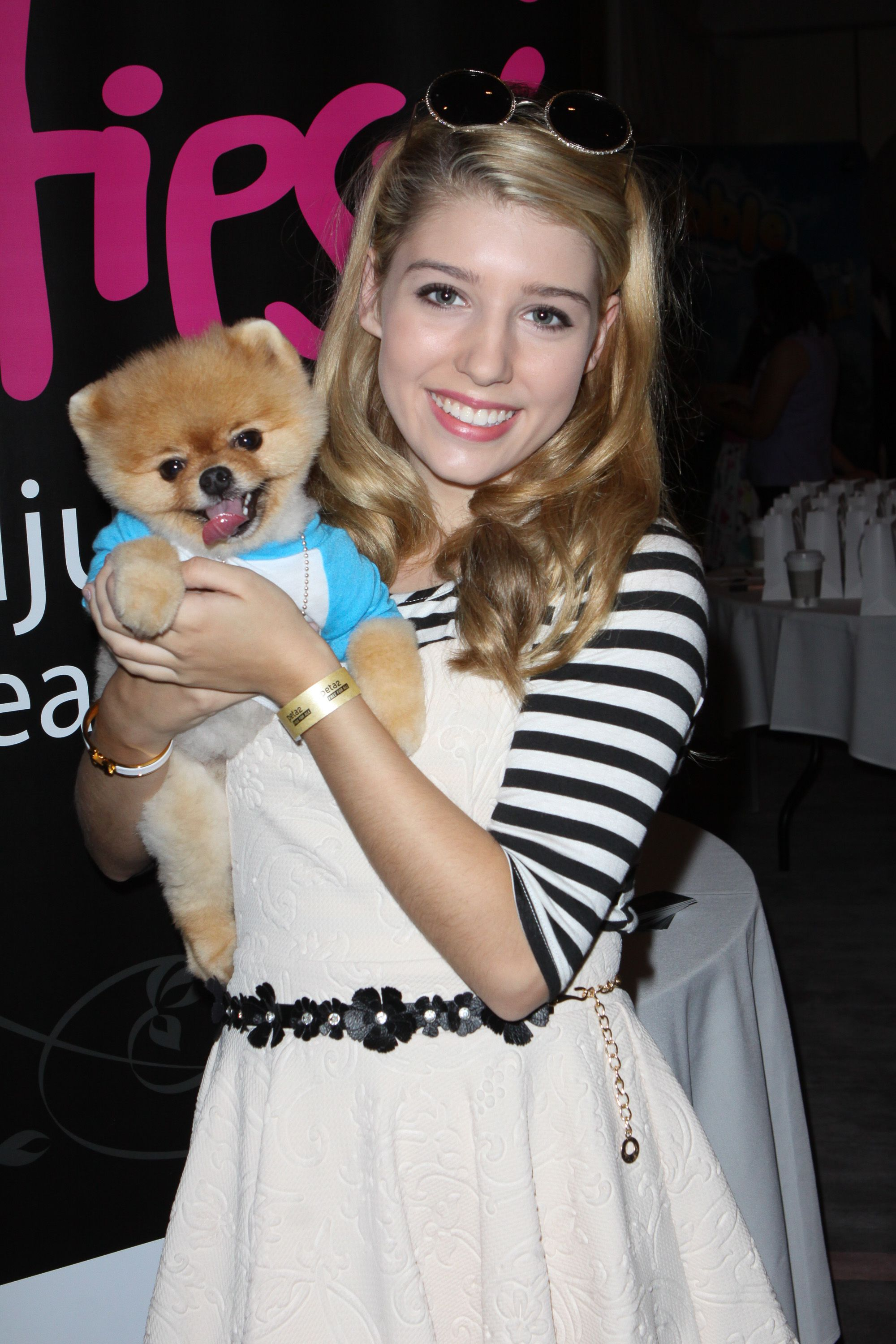 Paris Smith, Jiff Pom attended the Red carpet Events LA Luxury Gift Style Lounge in Honor of 2014  Teen Choice Awards for Nominees and Presenters