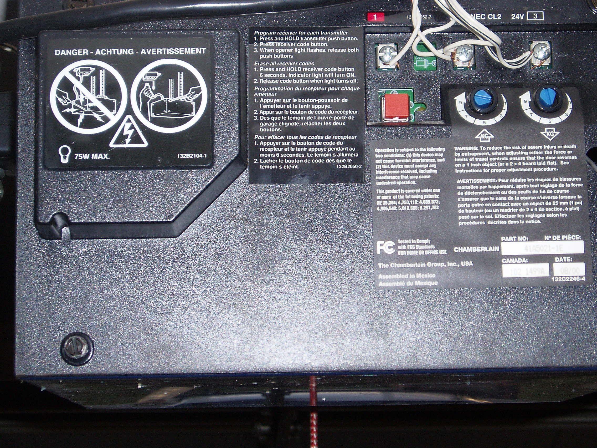 Genie Garage Door Opener Learn Button. Delighful Door Genie Garage Door  Opener Learn Button Intended