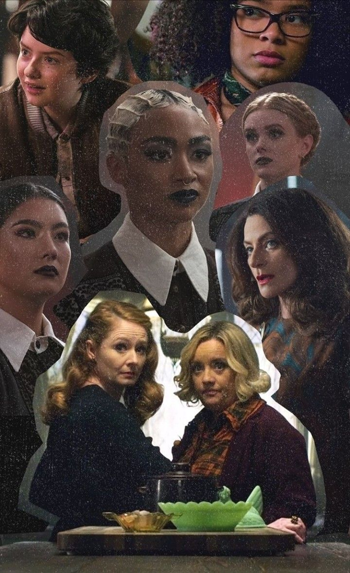 Wallpaper by Netflix Sabrina and family