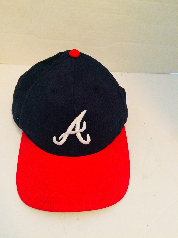 Atlanta Braves Hat Mbl Adjustable One Size Fit All Hat Caps Mlb Atlantabraves Baseball In 2020 Atlanta Braves Hat Braves Hat Atlanta Braves