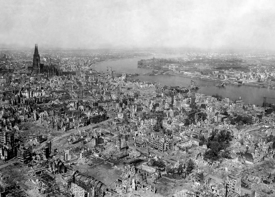 cologne germany 1945 Cologne Germany After The War