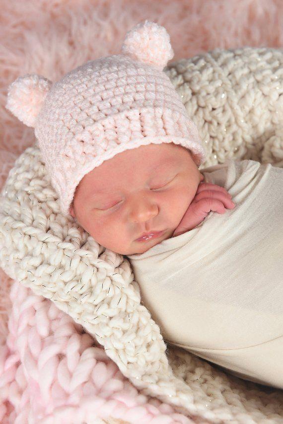 a135f72aa Newborn Baby Girl Hat 35 Colors Newborn Girl Hat Newborn Hat Girl Newborn  Baby Hat Newborn Photo Pro