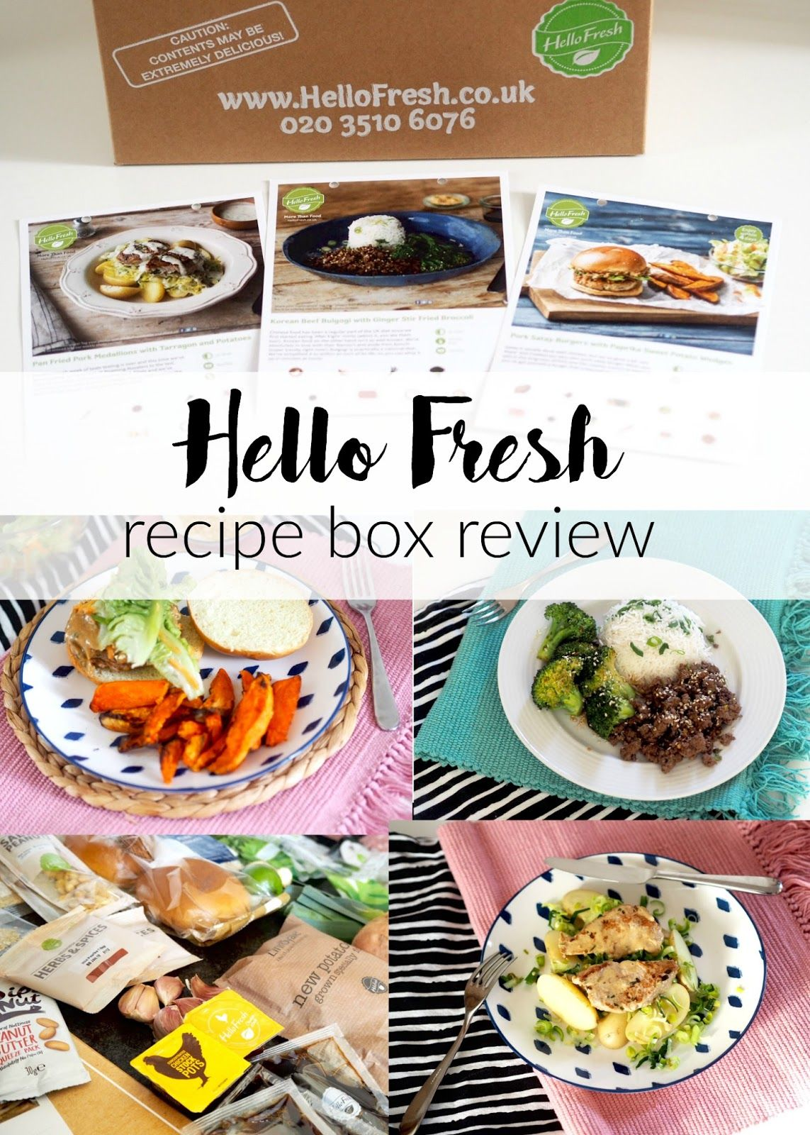 Hello fresh meal subscription box review eatloveve meal hello fresh meal subscription box review eatloveve forumfinder Images