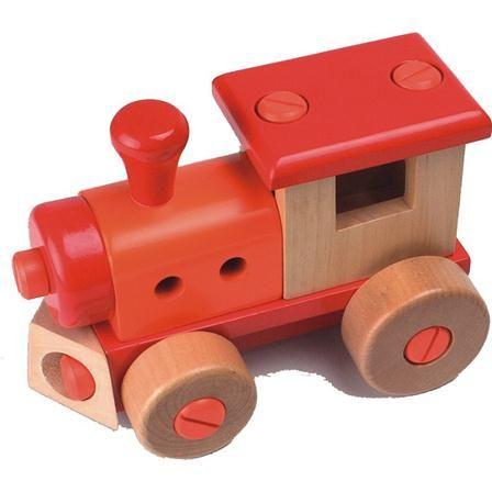 Tren y destornillador de madera de Egmont Toys