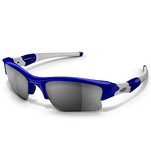 oakley blue and white sunglasses  MLB Flak Jacket XLJ Sunglasses by Oakley - like the players wear ...