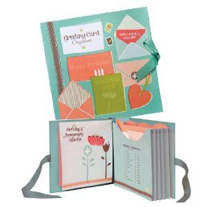 Birthday Card Book Organiser For Greeting Cards By Ktwo Products Amazon Co Uk Kitchen Home Birthday Card Book Greeting Card Organizer Cards