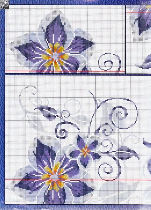 Gallery.ru / Фото #5 - Los patrones de bordado bordado de mini №185 ...