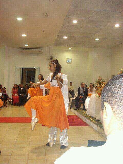 Roupas de coreografia gospel♥