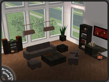 Around The Sims 2 | Objects | Living Room | Anya Part 20