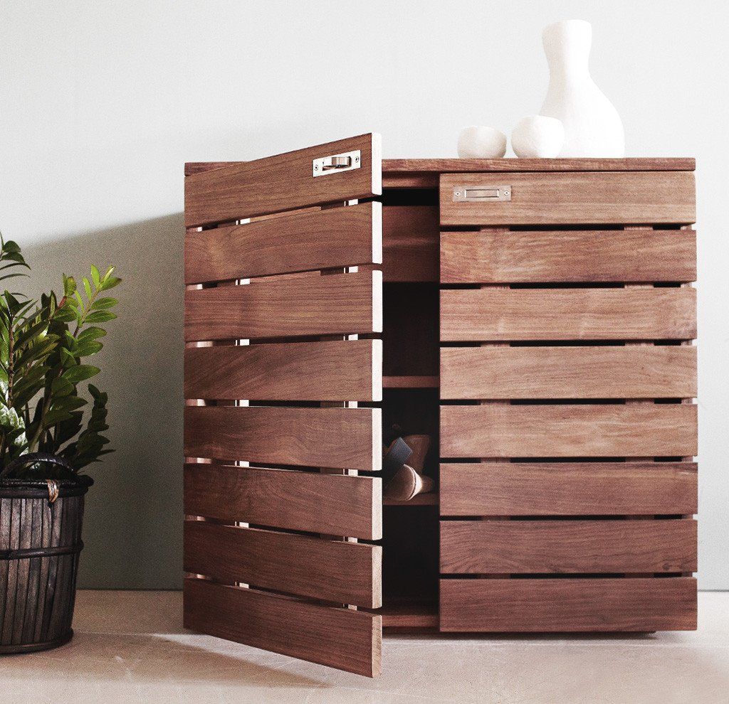 Teak Shoe Cabinet Horizon Shoe Rack Outdoor Wood Shoe Rack