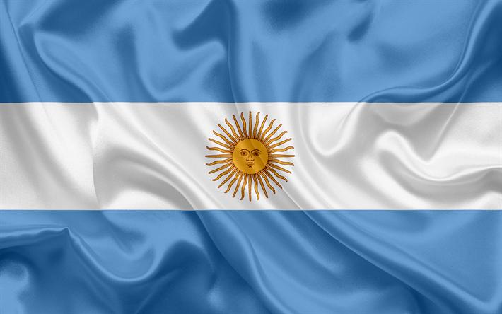 Descargar fondos de pantalla Bandera argentina, Argentina, América ...
