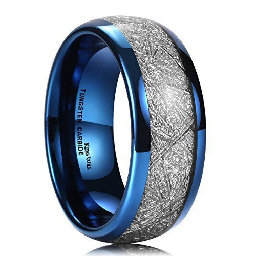 8mm Blue Tungsten Carbide Ring Celtic Dragon Blue Carbon Fibre Inlay Mens Wedding Band Size 8 5 Mens Wedding Bands Tungsten Blue Tungsten Ring Blue Tungsten