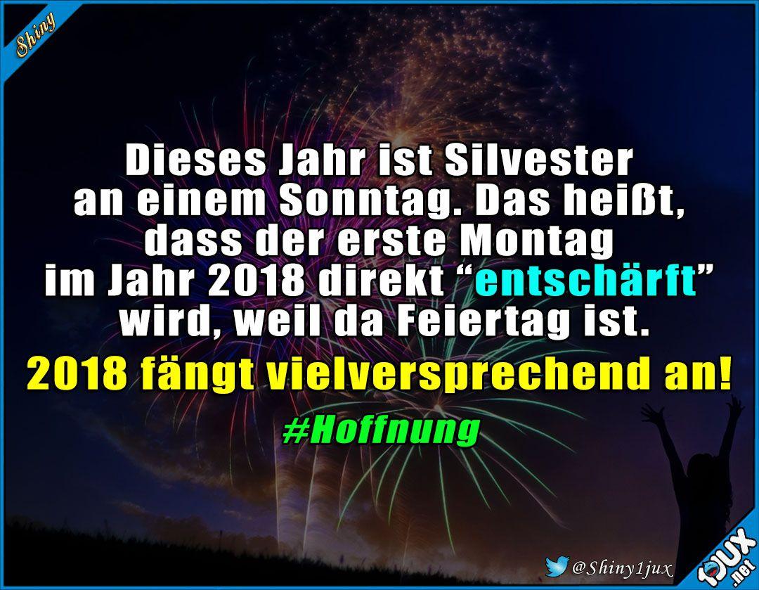 Guter Start ins neue Jahr! #Silvester #Neujahr #Jahr2018 #2018 ...