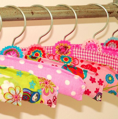 Fabric Clothes Hangers For Girls Diy Crafts For Girls Diy And