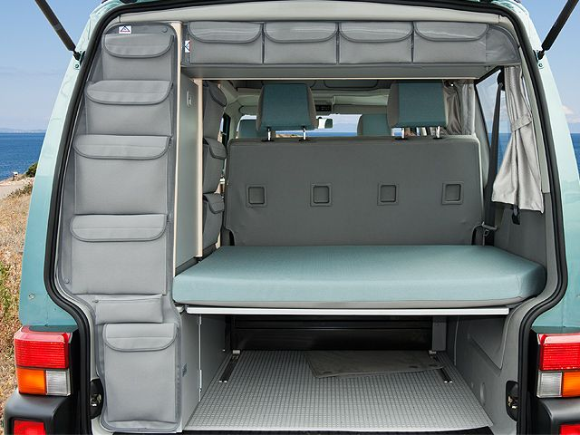 utilities vw t4 european the custom bags are an interesting idea for organizing and using. Black Bedroom Furniture Sets. Home Design Ideas
