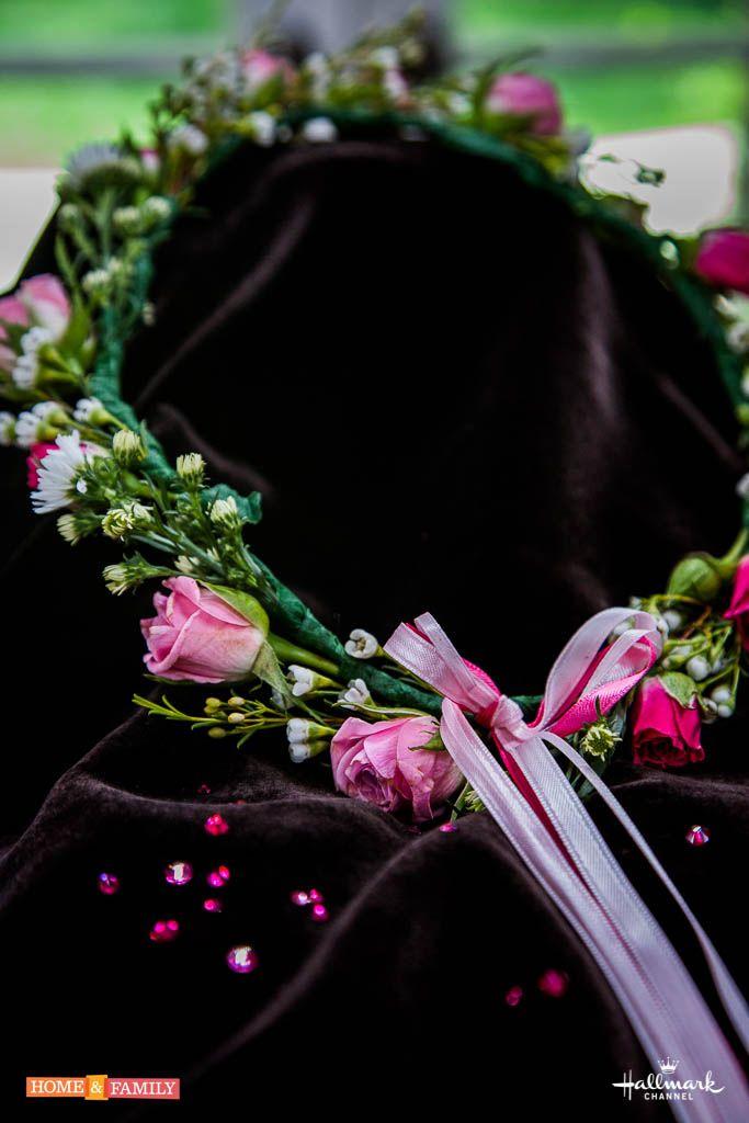 flower girl halos created by tmemme28 wedding homeandfamily diy wedding pinterest halo. Black Bedroom Furniture Sets. Home Design Ideas
