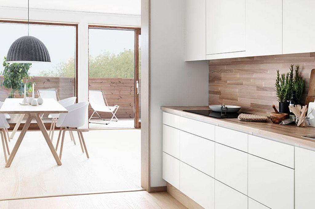 Funkcjonalna Kuchnia Modern Kitchen Home Kitchens Scandinavian Kitchen Design