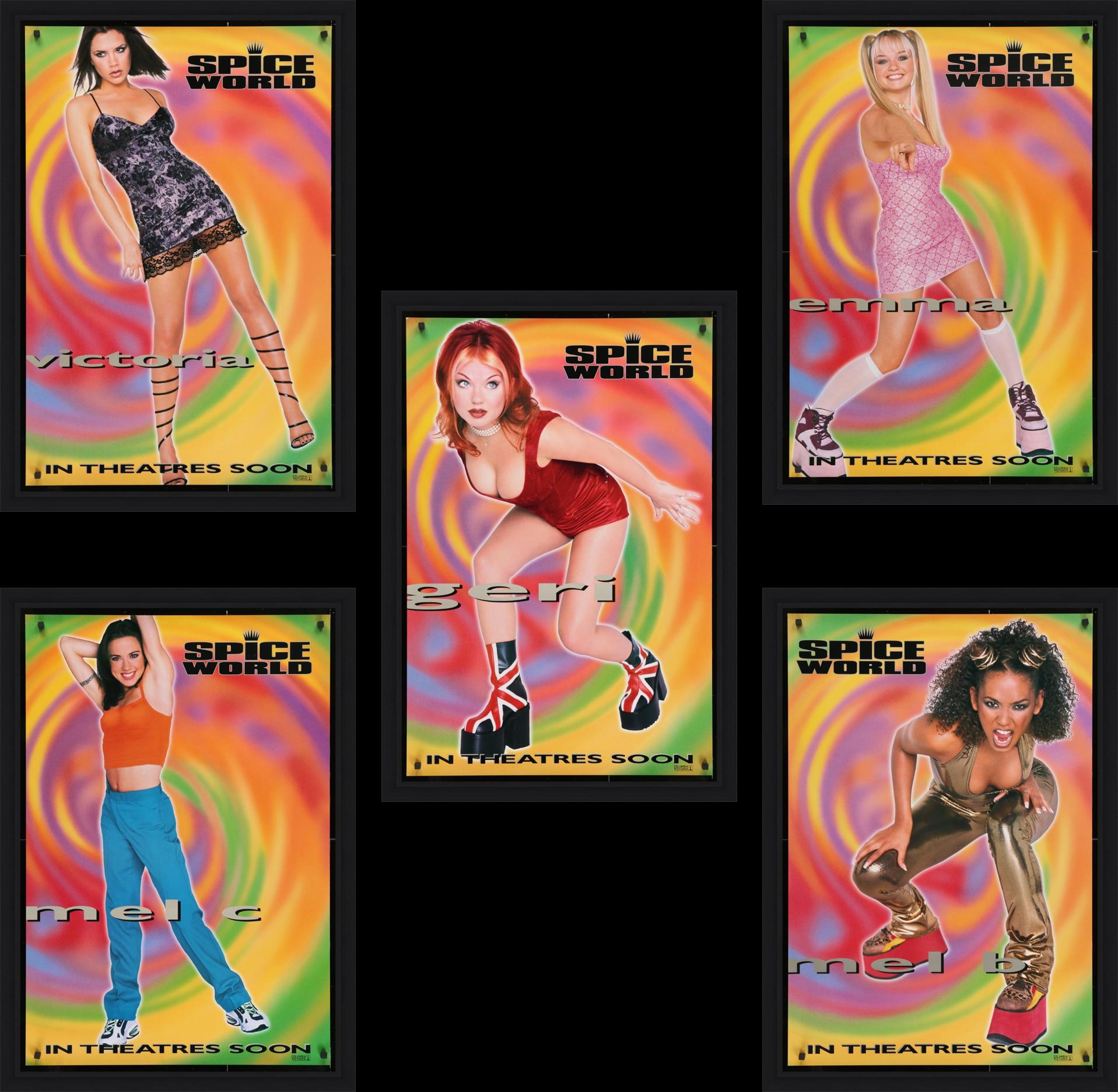 Spice World : The Movie - 1997 (Set of 5)