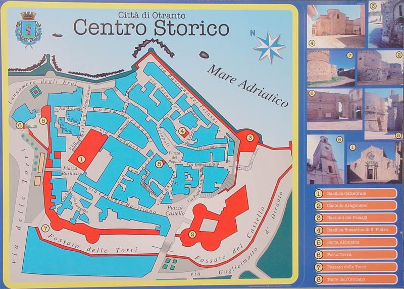 Otranto Italy Map.Otranto Italy Cruise Port Of Call