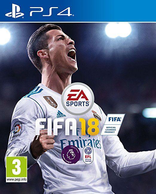 Fifa 18 Ps4 With Images Ea Sports Fifa Fifa Ronaldo