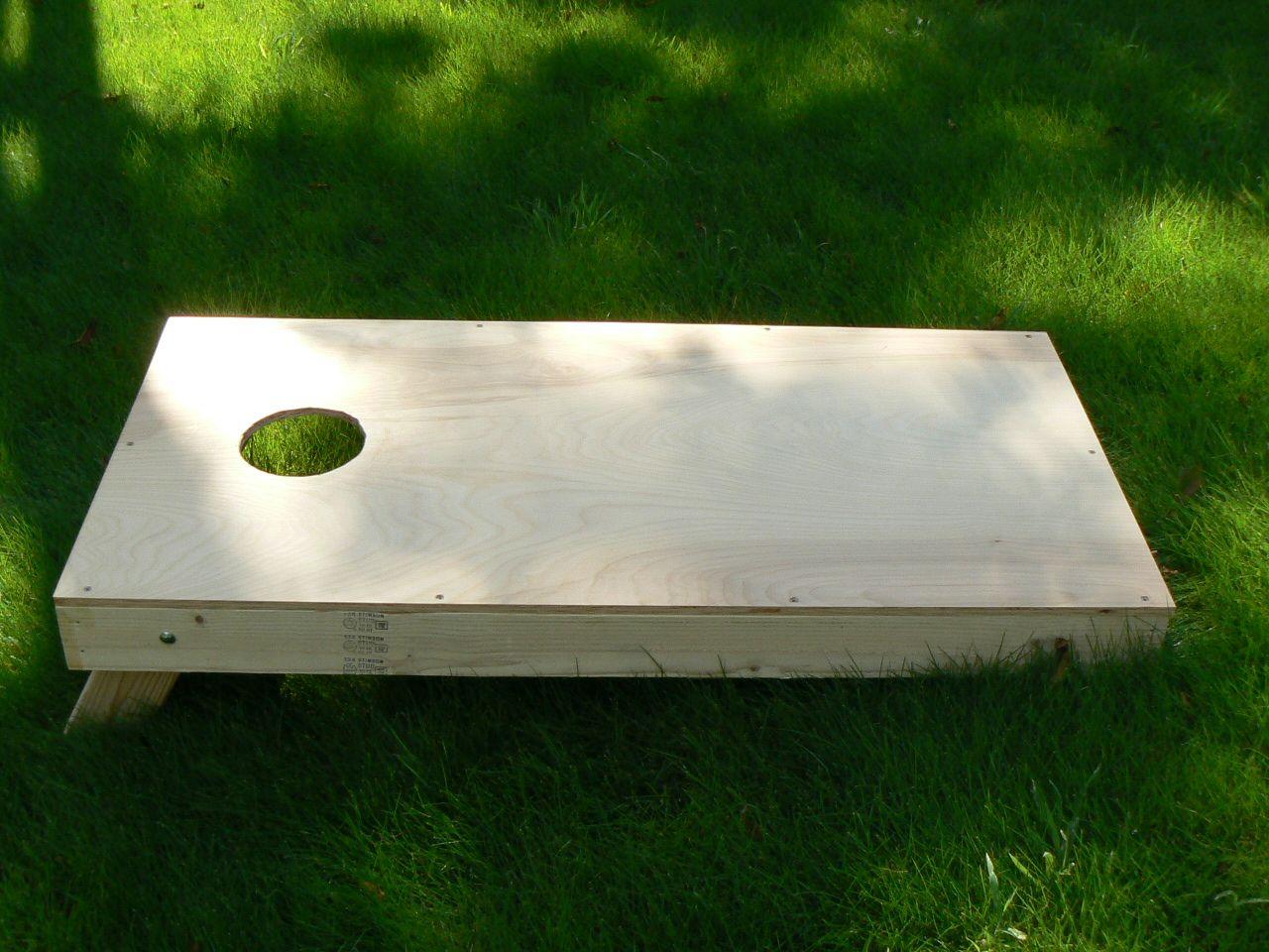 Cornhole boards build your own cornhole boards