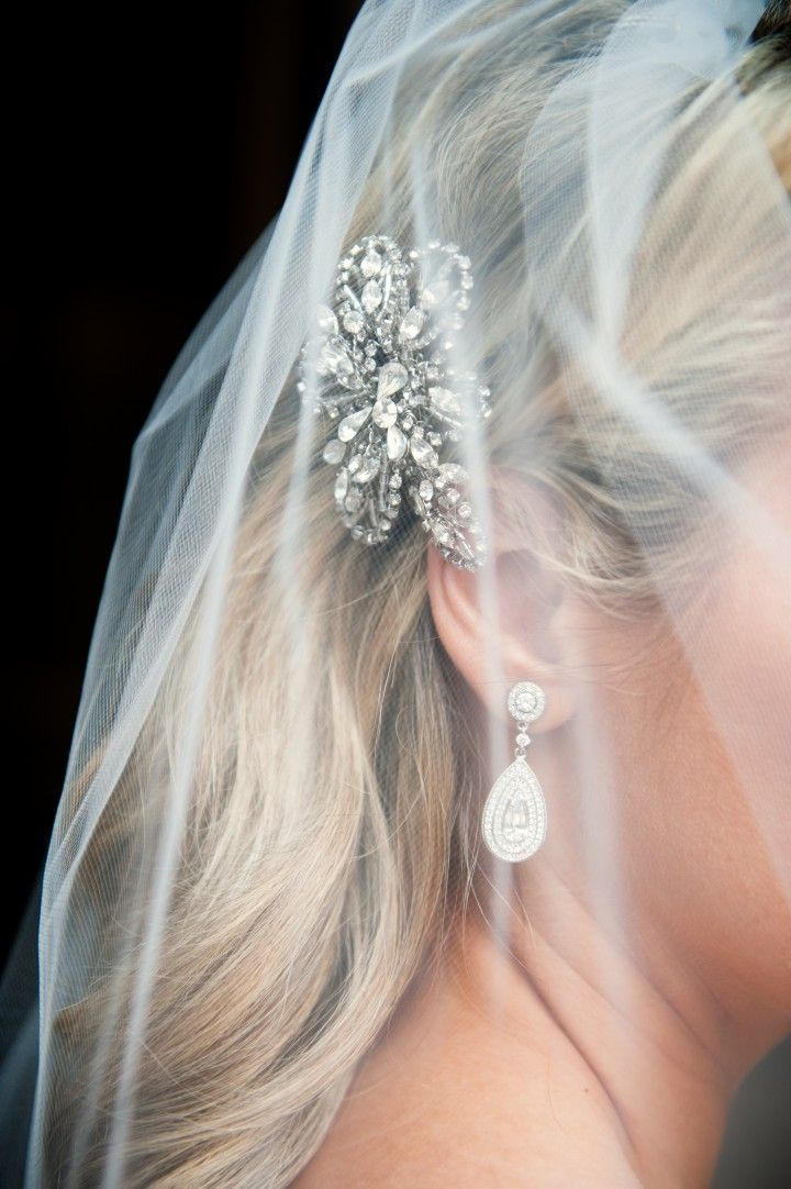 wedding hairstyle; Photo: Laurel McConnell