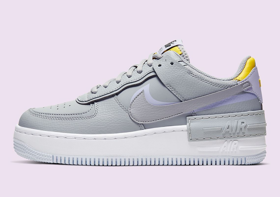 Nikes Double Layered Air Force 1 Shadow Is Coming In Grey