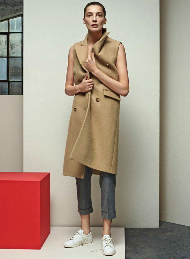 Daria Werbowy shot by Karim Sadli & styled by Grace Coddington | Vogue US | April 2014 | Kicking Back