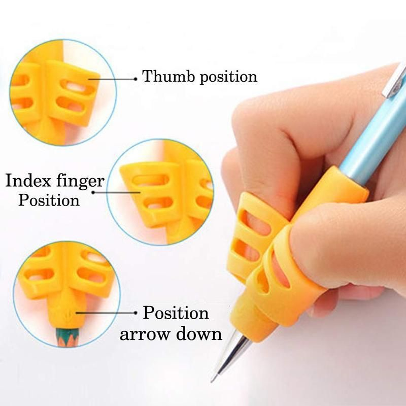 UK Hot Pencil Holder Pen Writing Aid Grip Posture Correction Tool For Kid Child