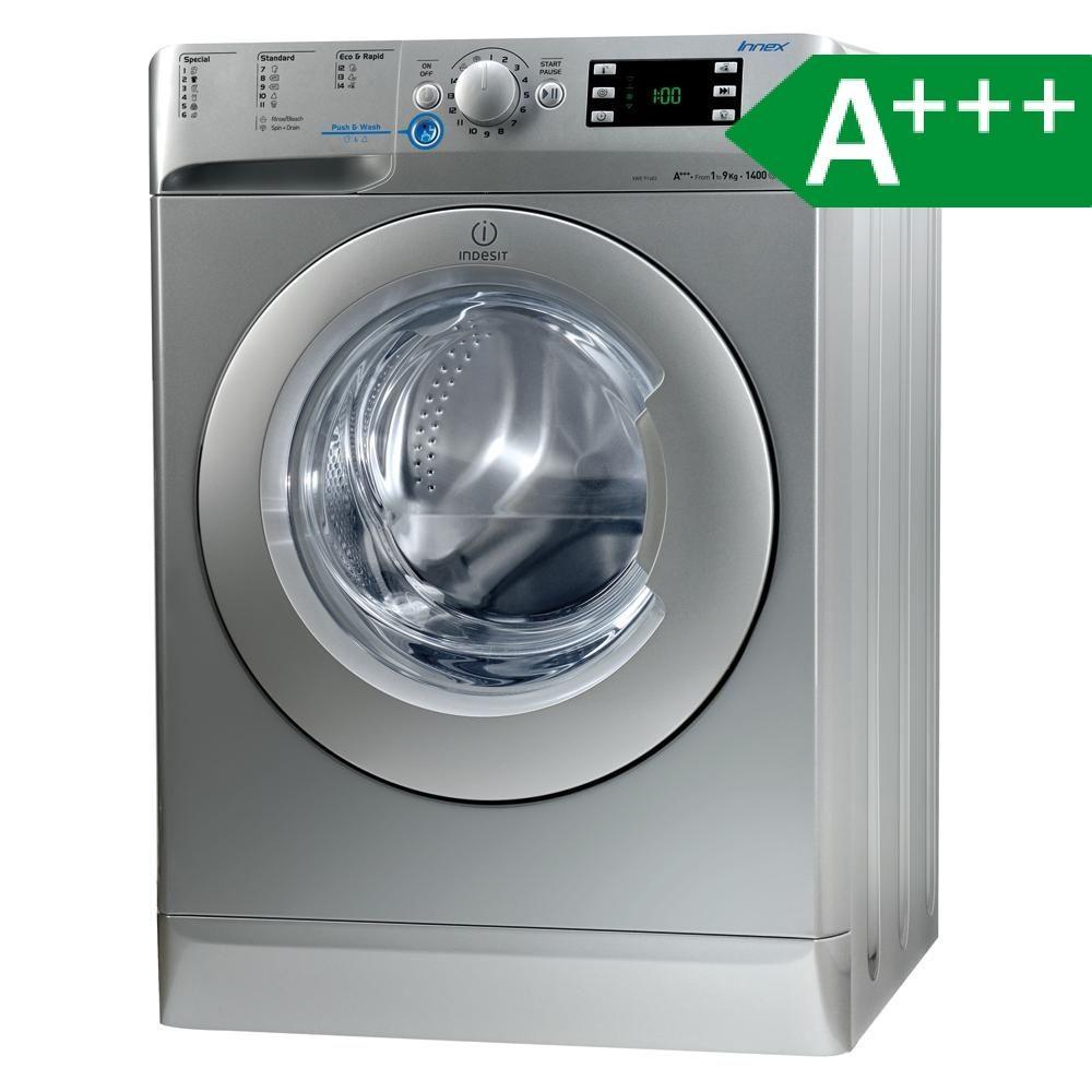 Indesit Xwe 91483x S Eu Eek A Waschmaschine 9 Kg A Silber