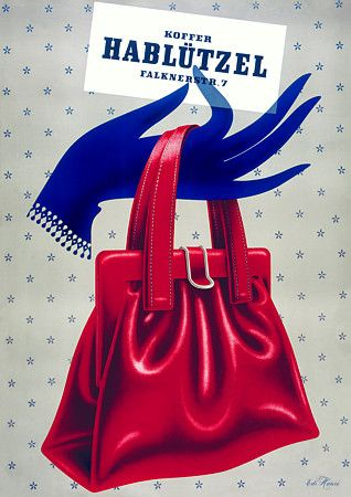 Hablutzel Hand Bags (1940s)  9b575aabc7b4a