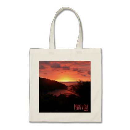 Tote Bag - sunset tote bag by VIDA VIDA