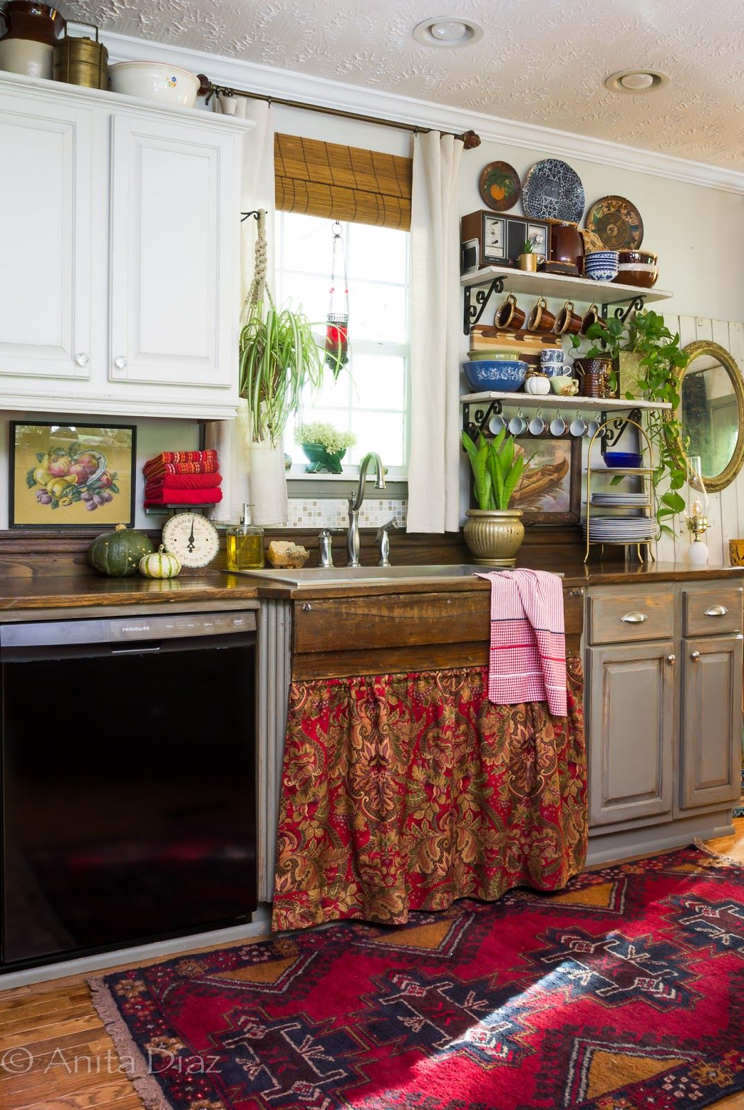 Bold Eclectic Fall Tour Home Decor Styles Eclectic Home Home