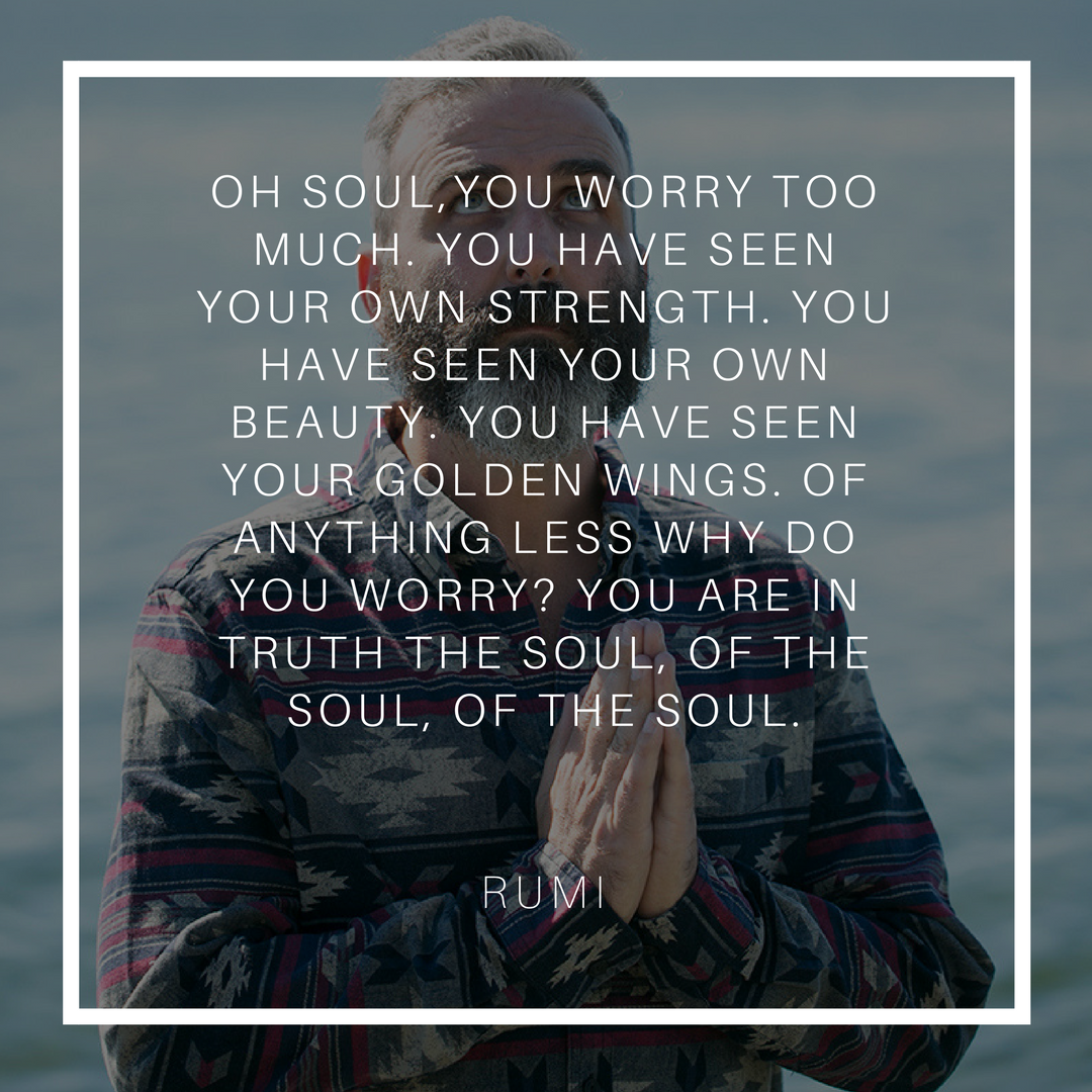#Worry has destroyed so much but accomplished so little. It separates us from the truth of who we are. Our grievances about the past, our #anxiety about the future only creates our #suffering in the present. After all, every time we look there, they #change (Click to read my reflection on Worry)