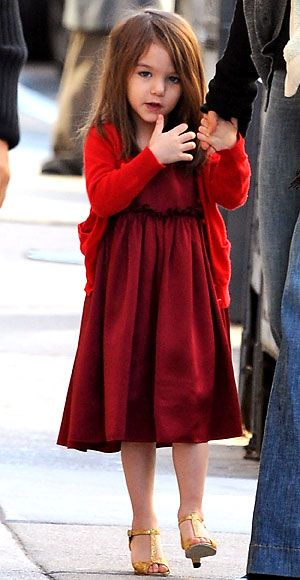 Suri Cruise's Cutest Outfits - A Holmes & Yang Dress from #InStyle