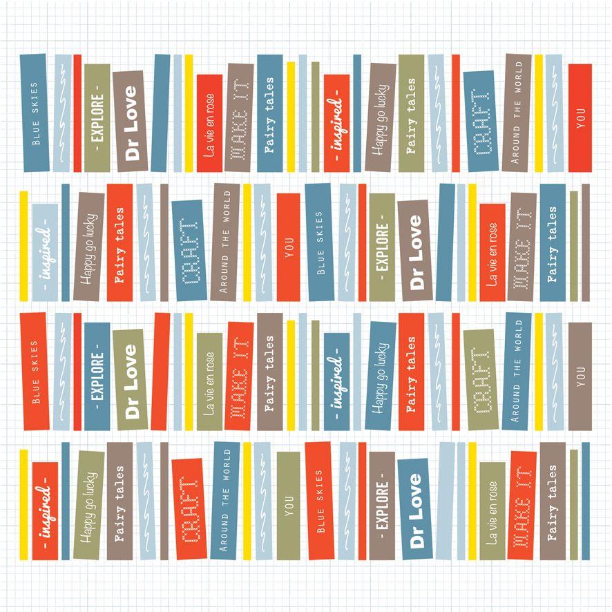Books, pattern design