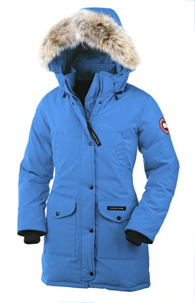 blue canada goose coat