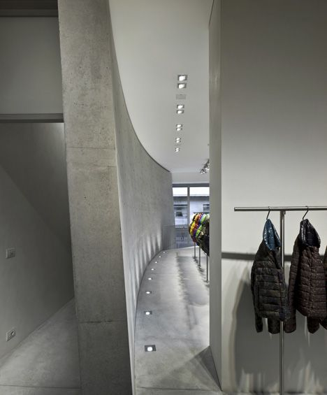 Duvetica Milan Store By Tadao Ando Tadao Ando Retail Interior Retail Store Design