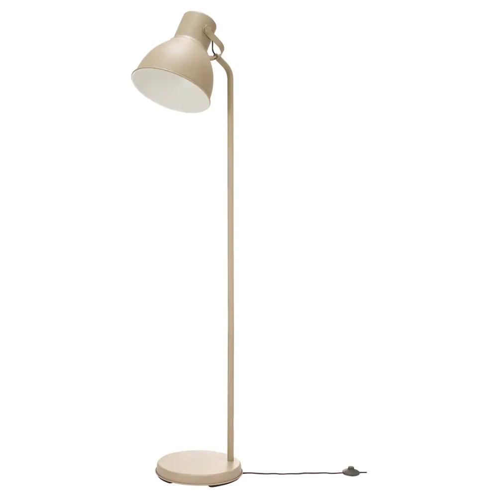 HEKTAR Floor lamp beige Ikea floor lamp, Floor lamp, Lamp
