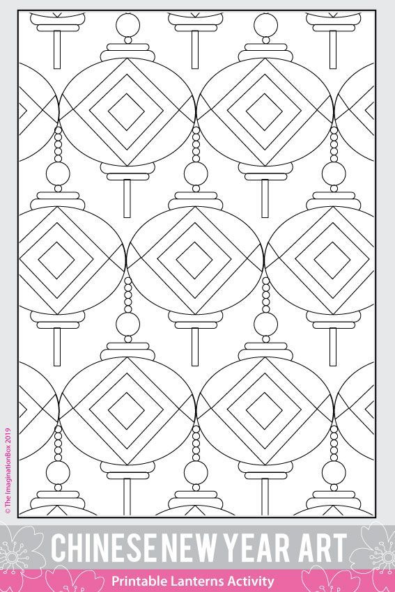 Chinese New Year 2021 Coloring Pages And Art Activities Chinese New Year Crafts Coloring Pages Fun Arts And Crafts