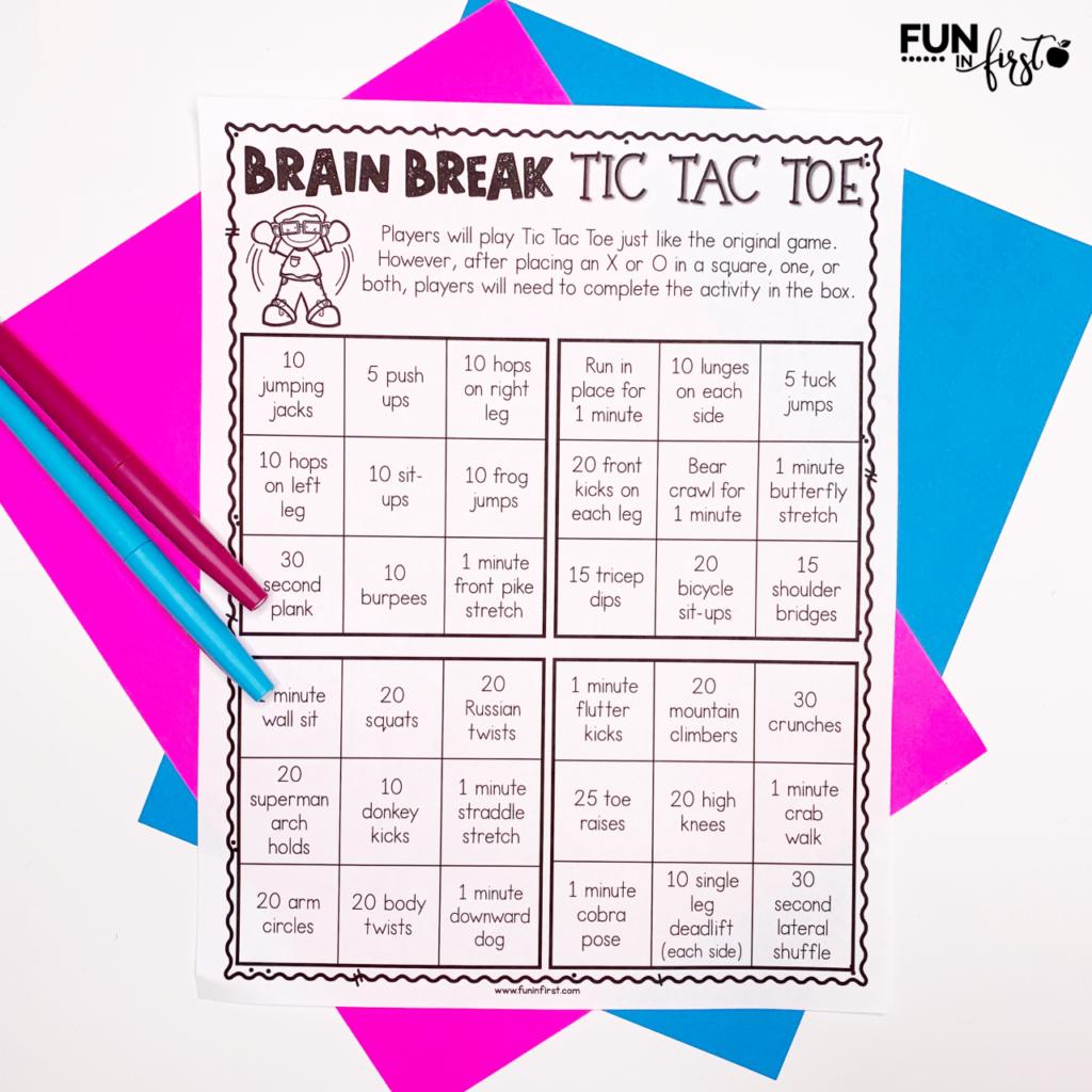Pin On Brain Breaks