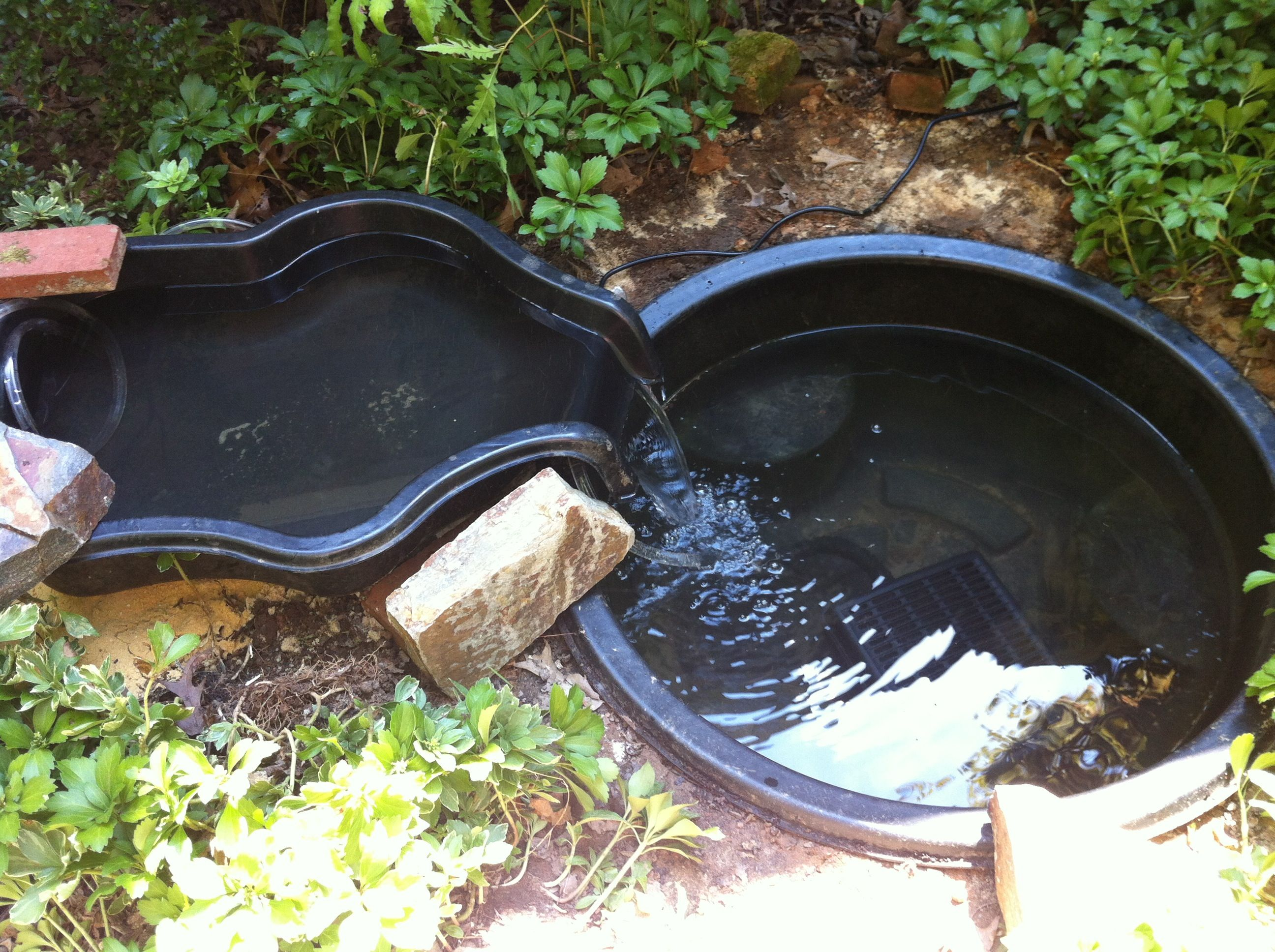 This is the sort of pond i want as a base obviously would for Best koi pond liner