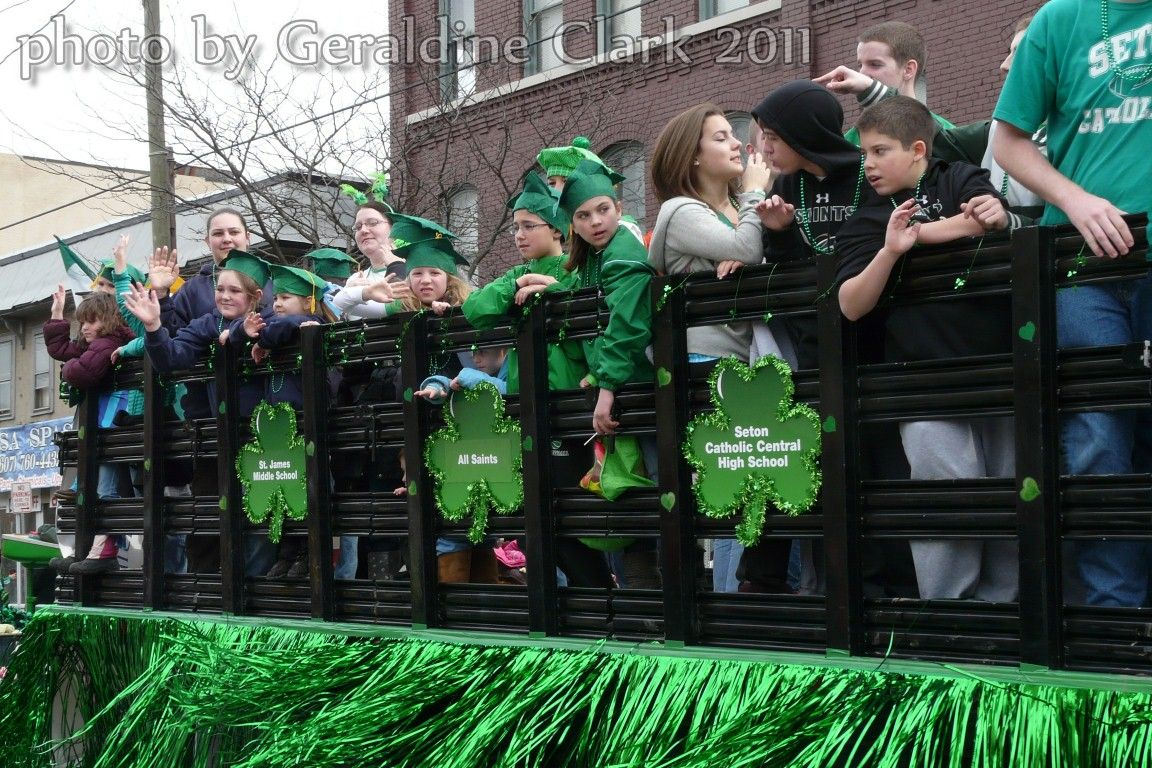 St Patrick's Day Parade Binghamton NY 2011 ...photo by geraldine clark