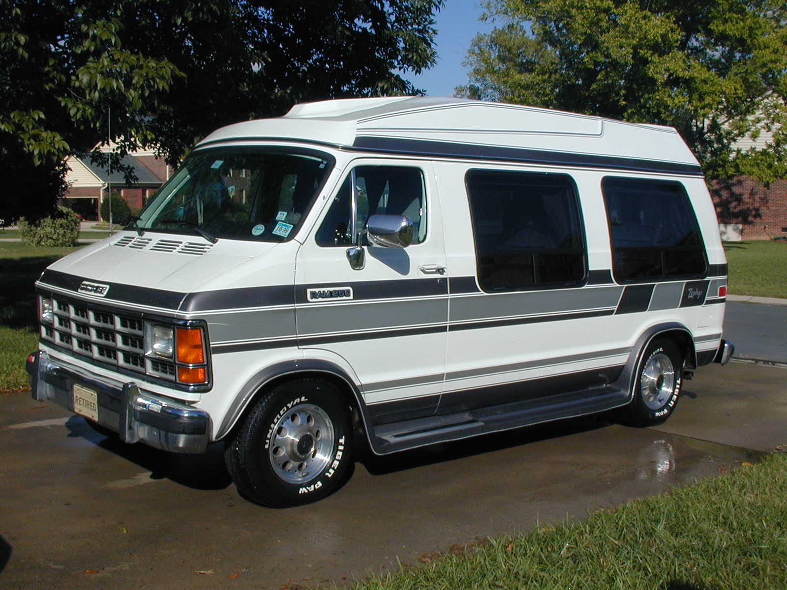 Dodge Conversion Van >> Picture Of 1992 Dodge Ram Van 3 Dr B250 Cargo Van Exterior