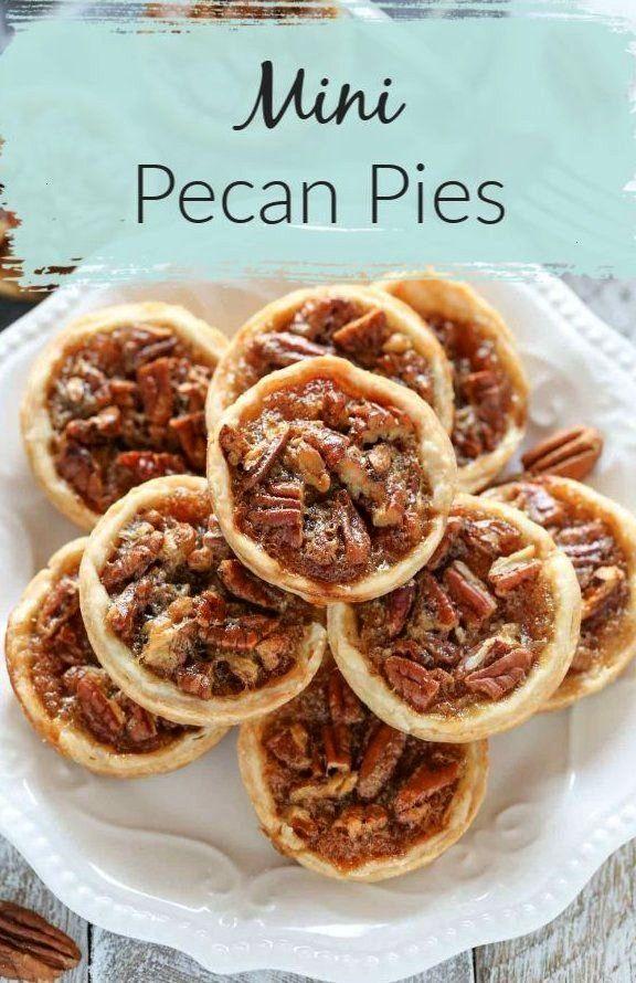 Mini Pecan Pies Are Easy To Make And Can ~ diese mini pecan pies sind einfach zu machen und können