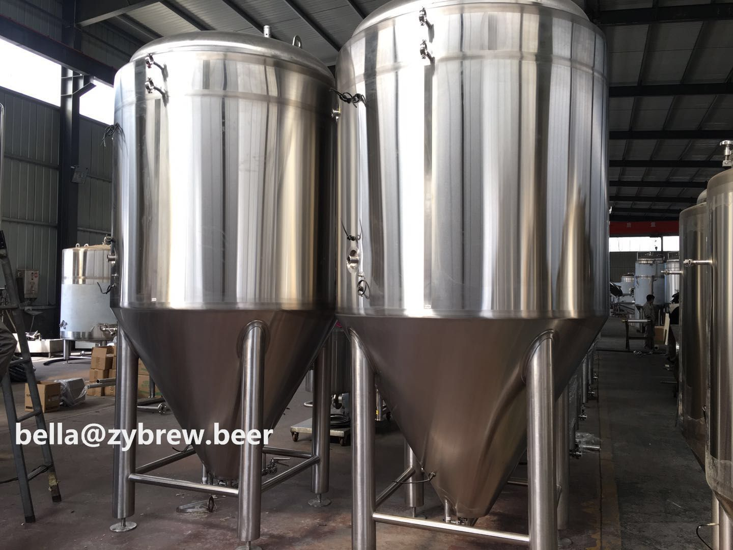 The 10bbl Brewery System For Brasserie Messorem Bracitorium Inc In Canada Detailed Configuration As Followin Brewery Brewing Equipment Beer Brewing Equipment