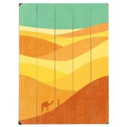 Best Price  Desert Journey Wood Panel by Budi Satria Kwan
