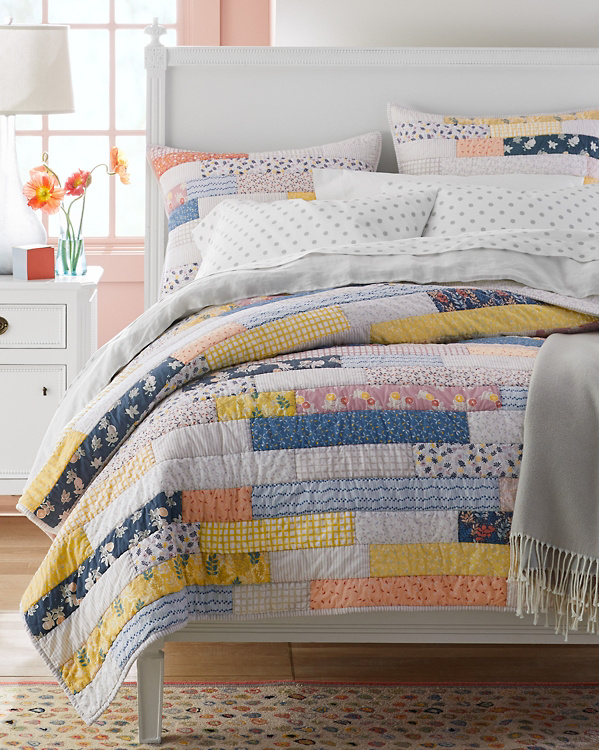 Maddie Quilt Bedding and bath, Quilted coverlet, Quilts